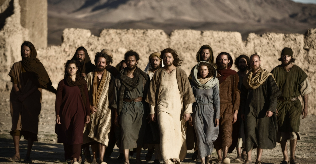 Jesus, Mary, Mary Magdalene and the Disciples (Photo Credit: Joe Alblas)