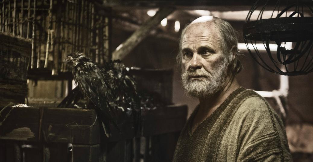 Noah aboard the Ark.
