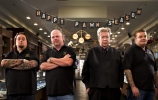 pawn stars cast, corey, rick, chumlee, old man, history