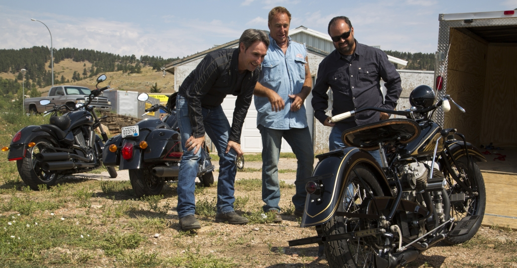 sturgis, american restoration, mike wolfe, frank fritz, rick dale