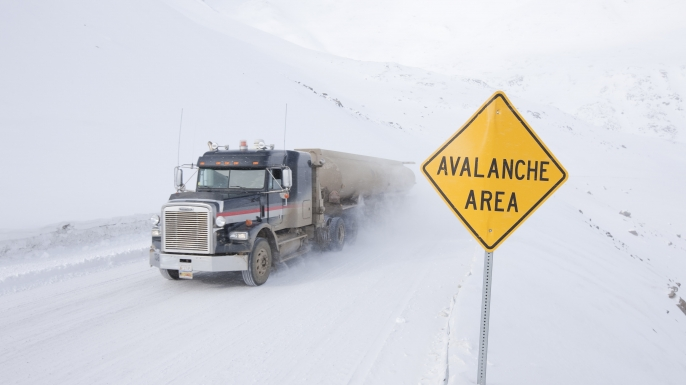 About Ice Road Truckers