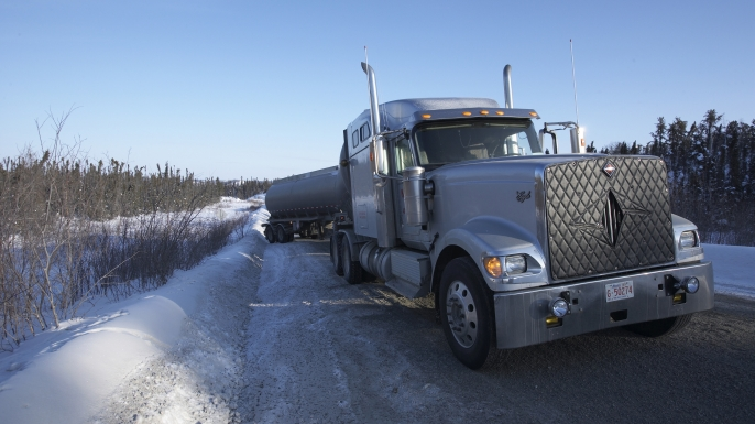 About Season 1 of Ice Road Truckers