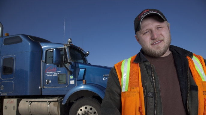 irt, ice road truckers, tim freeman