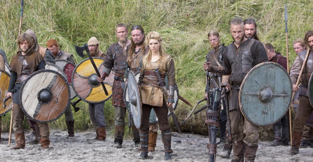 Lagertha, Ragnar, Rollo, Vikings