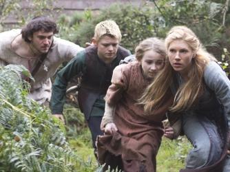Vikings, Athelstan, Bjorn, Gyda, Lagertha