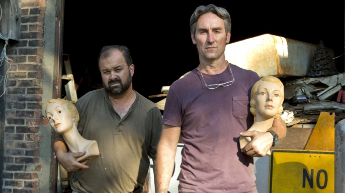 American Pickers, History, Mike Wolfe, Frank Fritz