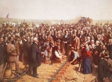 history, history channel, ,america the story of us, transcontinental railroad