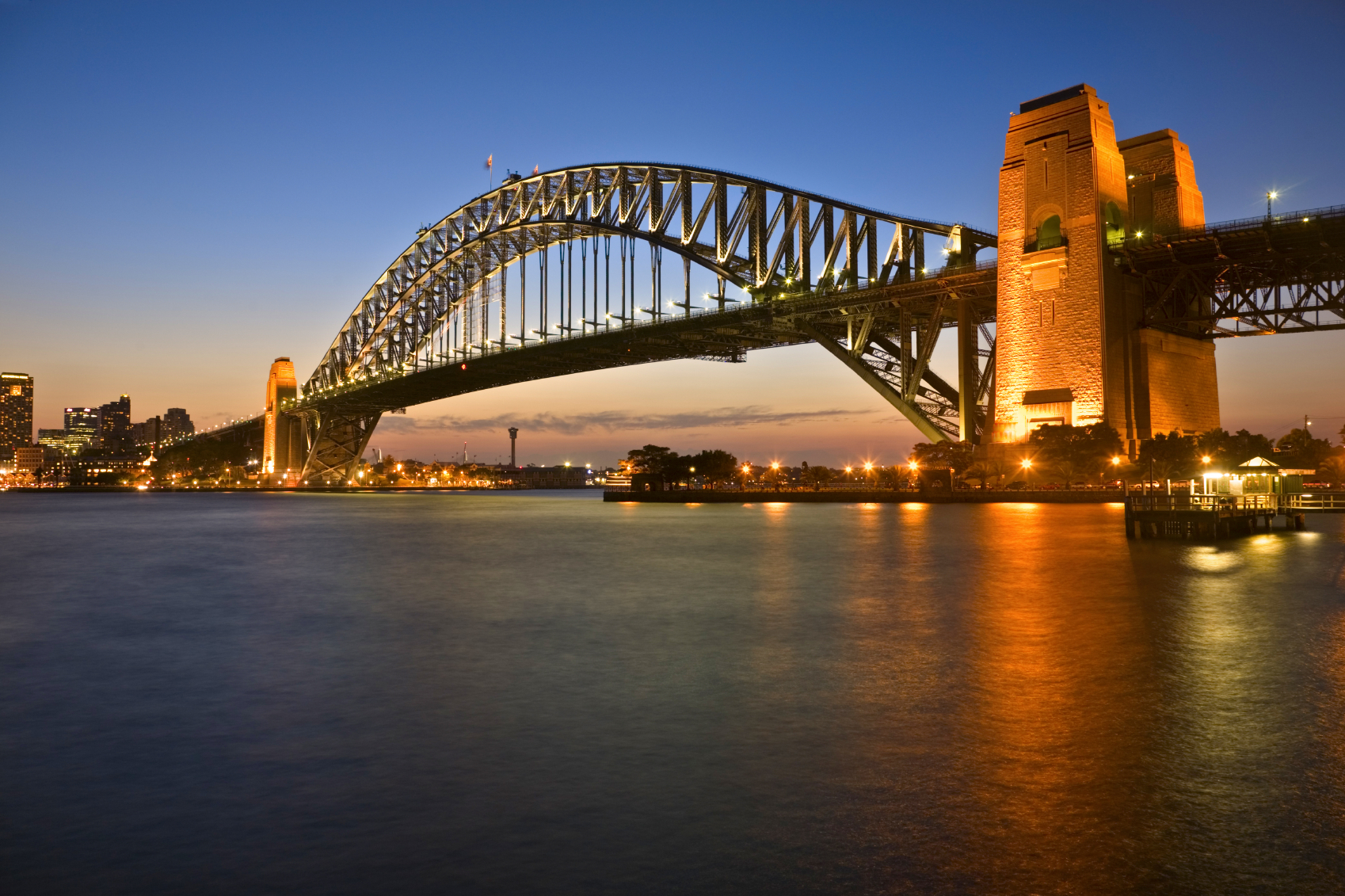 australia, sydney harbor bridge