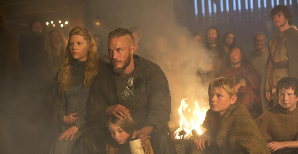 Vikings, Lagertha, Ragnar, Gyda, Bjorn