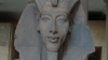 Akhenaten ascended to the throne of Egypt in 1352 B.C. Some ancient alien theorists interpret his elongated skull as  a sign of extraterrestrial heritage.