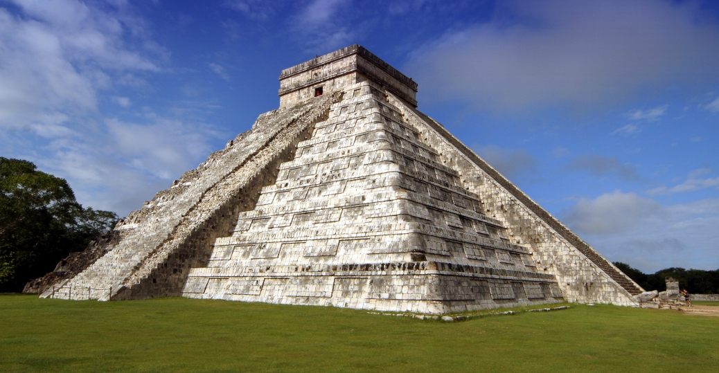 Like their Egyptian counterparts, the temples and pyramids at Chichen Itza are believed by some ancient alien theorists to be evidence of extraterrestrials.
