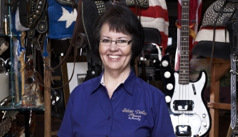 Cajun Pawn Stars, Peggy DeRamus, History, History Channel