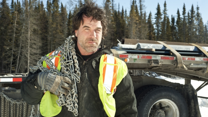 Ice Road Truckers, Darrell Ward
