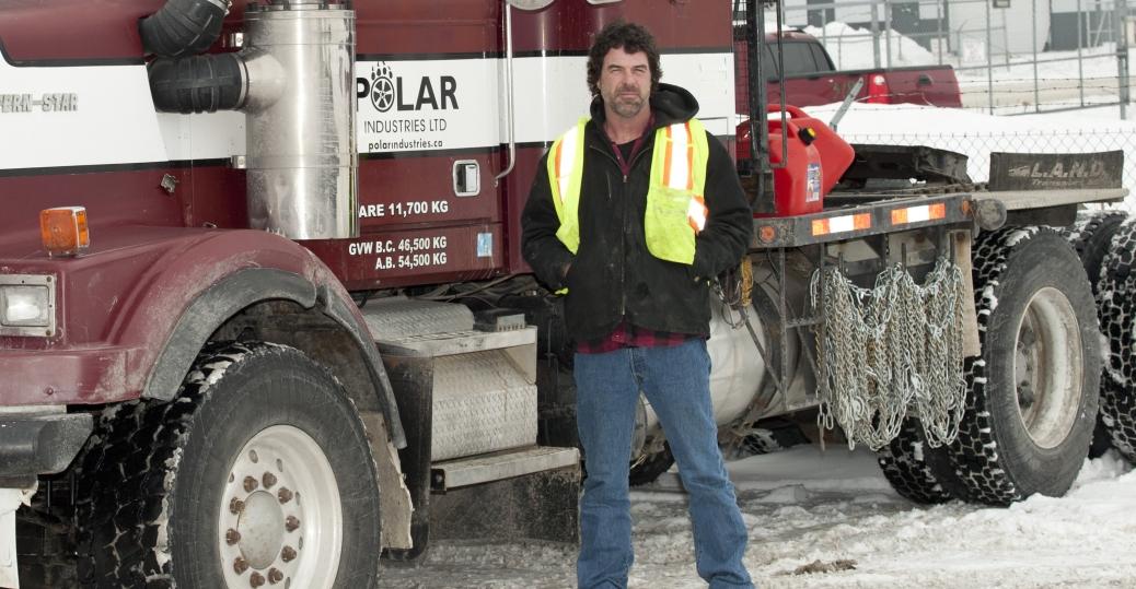 Darrell Ward, Ice Road Truckers