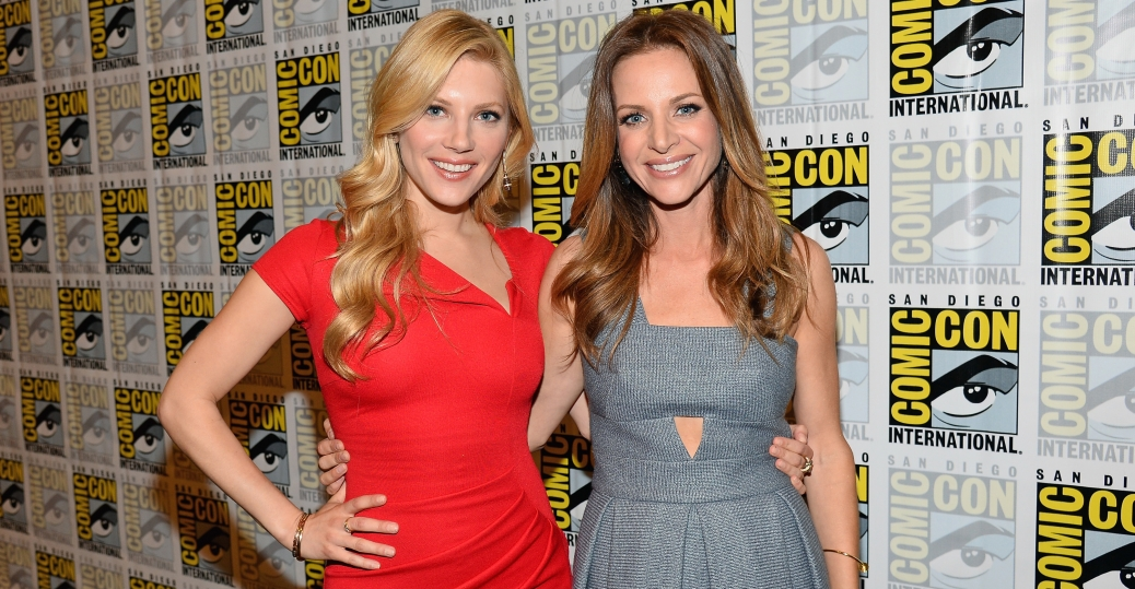 Katheryn Winnick and Jessalyn Gilsig (Photo Credit: Ethan Miller/WireImage)