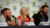 Travis Fimmel, Katheryn Winnick and Clive Standen (Photo Credit: Ethan Miller/WireImage)