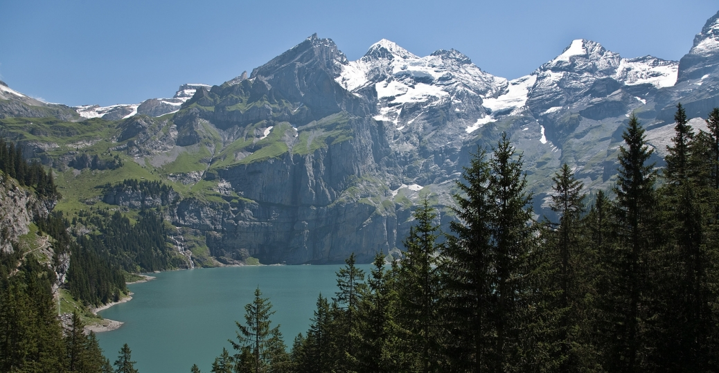 how the earth was made, lake oeschinensee,