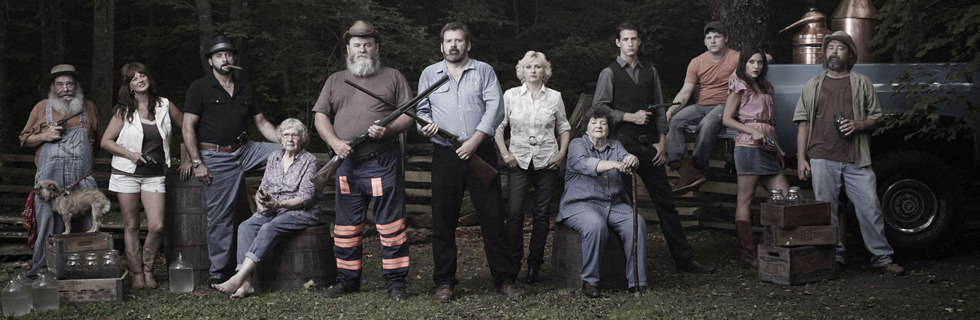 The Hatfields and McCoys: White Lightning show on The History Channel - Family Members