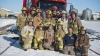 Lisa Kelly spends the day with firefighters in Springfield, Manitoba. (Photo credit: David Van Amber)