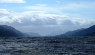 monsterquest, history channel, loch ness view