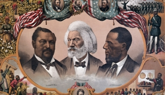 Frederick Douglass, Hiram Rhodes Revels, Bruce, African American Leaders during Reconstruction