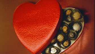 valentine's day, chocolate, heart