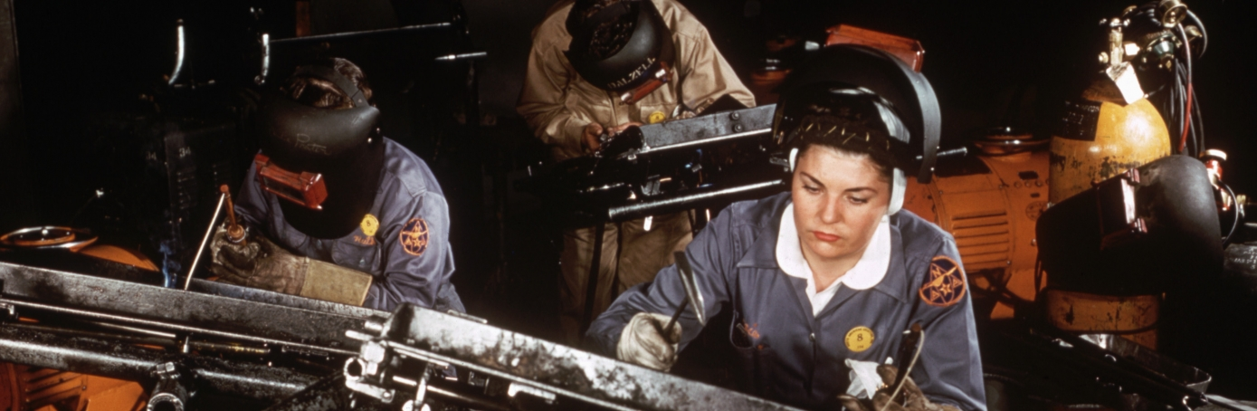 World War II, American Women in WWII, Rosie the Riveter