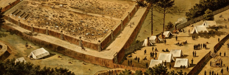 American Civil War, Andersonville Prison, Georgia