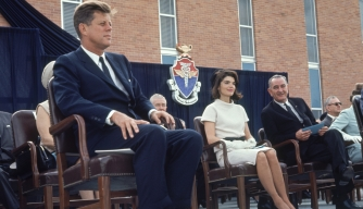 John F. Kennedy, Jacqueline Kennedy, Lyndon Johnson