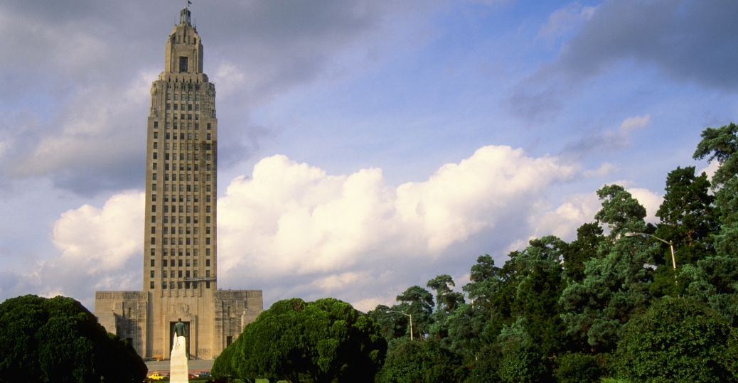 state capitol, baton rouge, louisiana, mississippi river