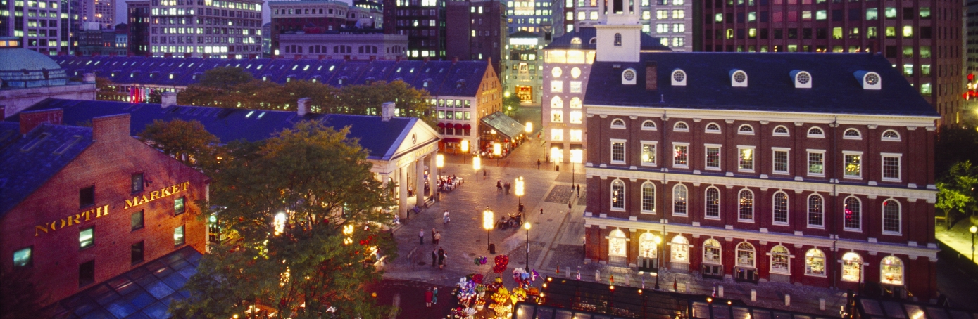 state capital, boston, Massachusetts, faneuil hall marketplace