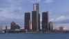 detroit, michigan, largest city, automotive center, motor city, renaissance center, general motors