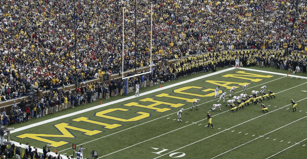 university of michigan, first public university, ann arbor, michigan, ncaa football