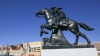 the pony express, memorial, mail delivery service, 1800s, missouri, st joseph, pony express memorial