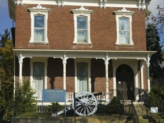 william t sherman, lancaster, ohio, general, the civil war, birthplace