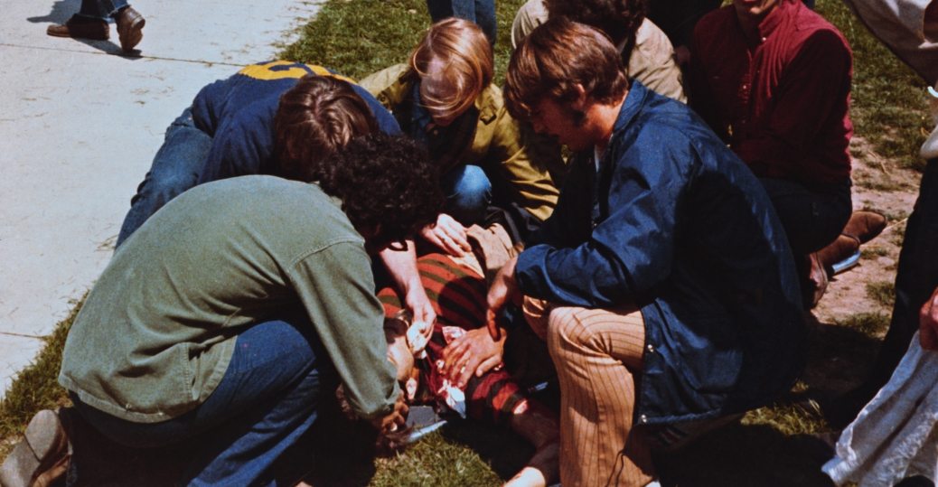 protest, the vietnam war, the national guard, students, ohio, neil young song, kent state, shootings