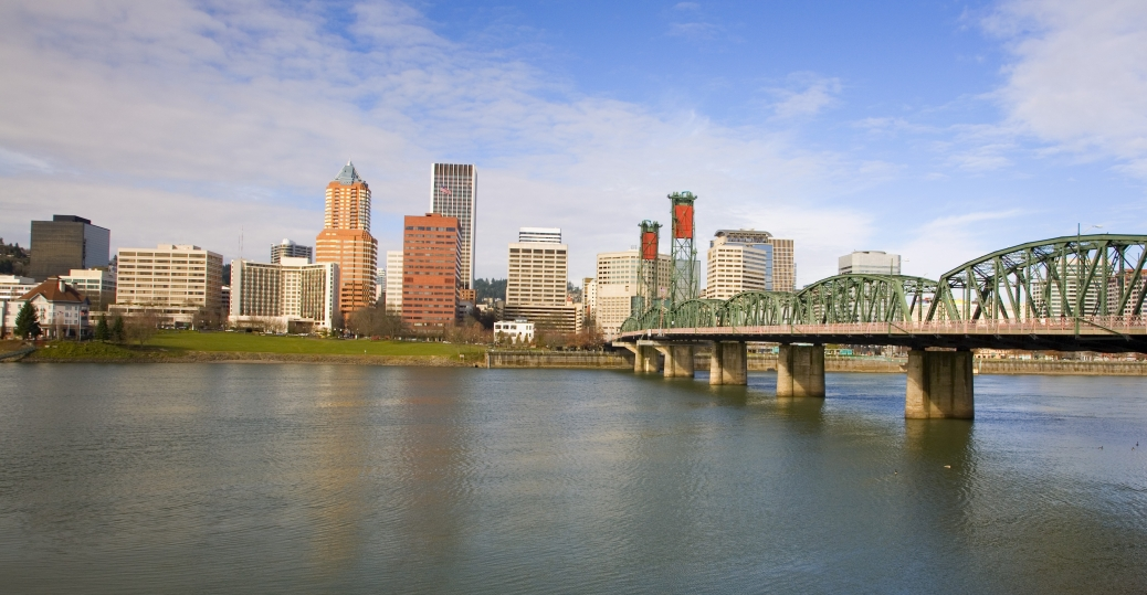 portland, oregon, largest city, greenest city