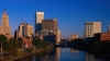 providence, rhode island, capital, largest city, skyline, seekonk river