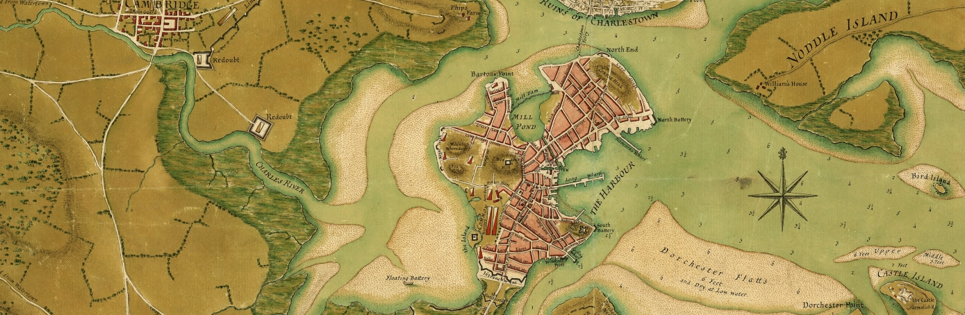 Siege Of Boston American Revolution HISTORYcom - Map of the us after the revolutionary war