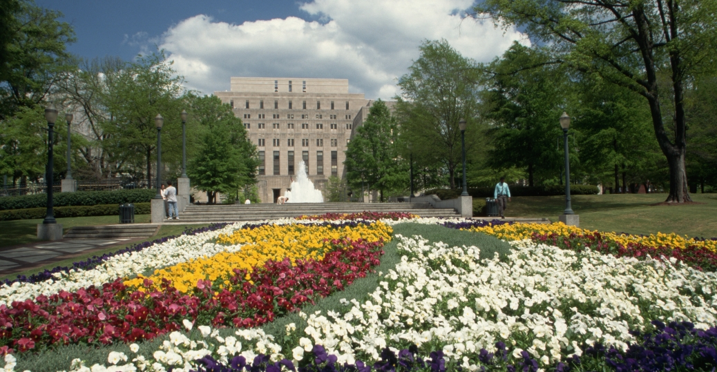 Linn Park, Birmingham, Alabama, Civic Center