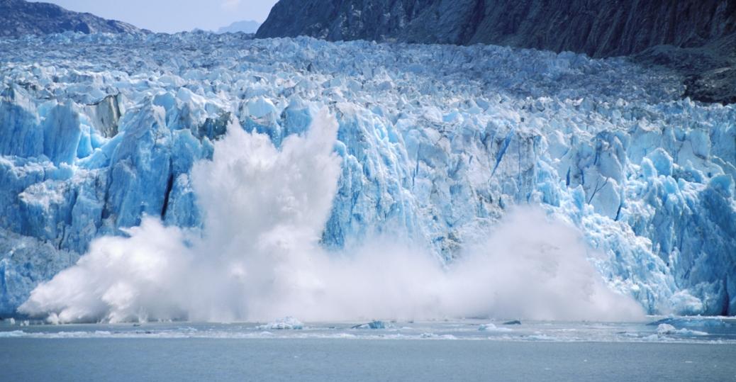 icebergs, dawes glacier, endicott arm, southest alaska