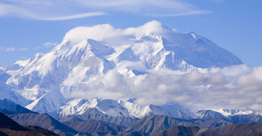 alaska, mount mckinley, north america, highest mountain