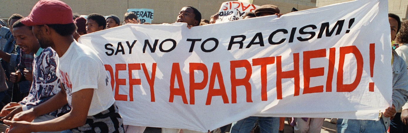 Anti-Apartheid demonstration, Apartheid, Johannesburg, South Africa