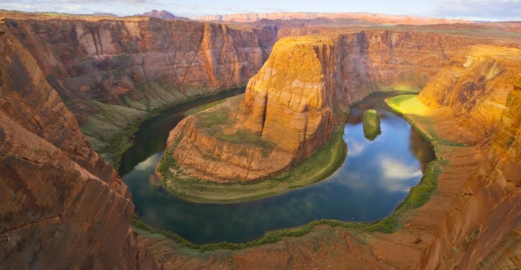 horseshoe bend, colorado river, glen canyon national recreation area, arizona