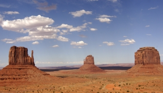 monument valley, sandstone rock, desert, arizona