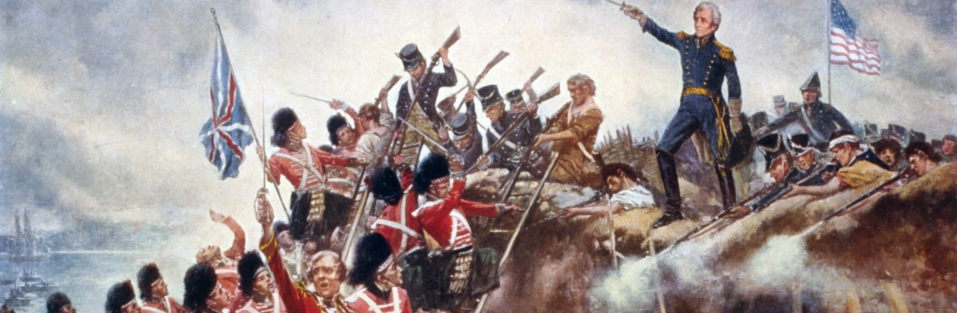 The Battle of New Orleans with General Andrew Jackson