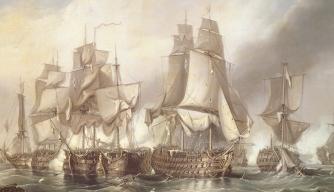 Battle of Trafalgar, Napoleonic Wars, British History, Admiral Nelson, Napoleon Bonaparte