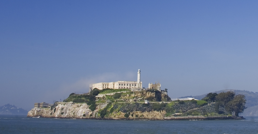 alcatraz, national historic site, san francisco bay, san francisco, california