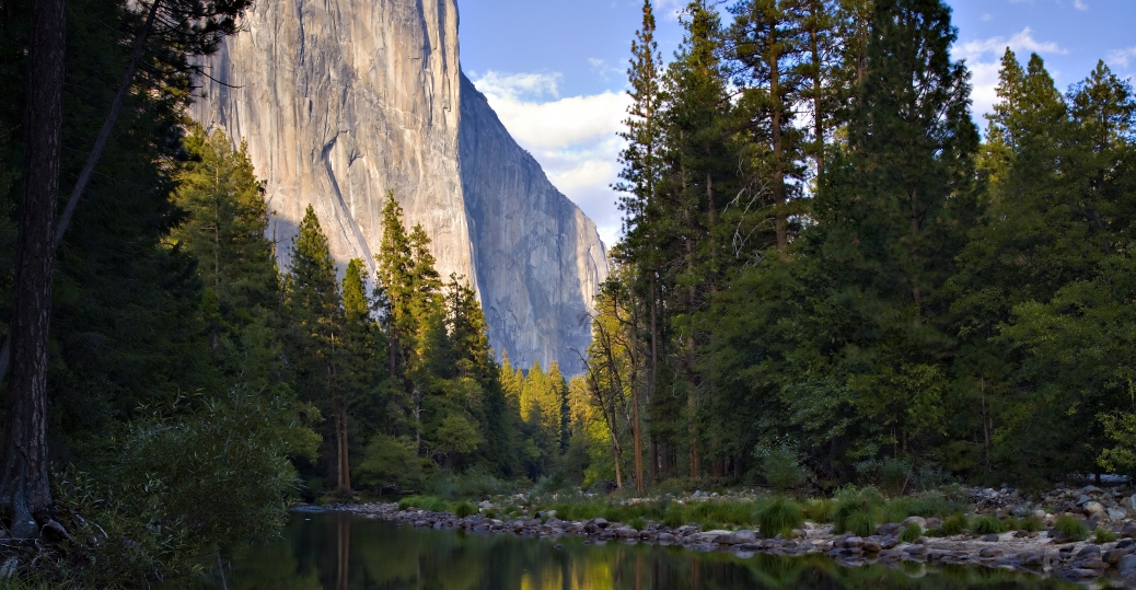 el capitan, merced river, california