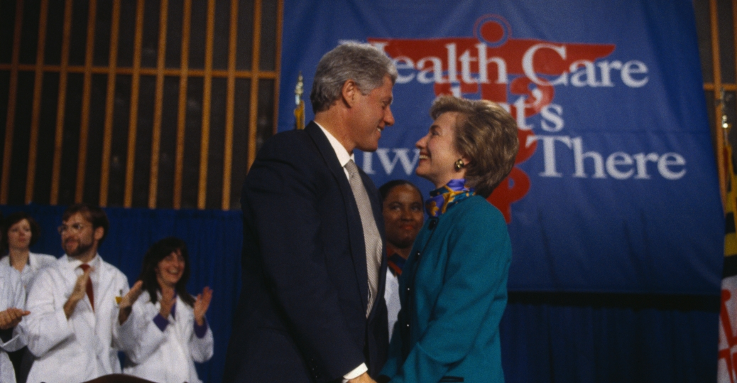 health care reform, bill clinton, 1994